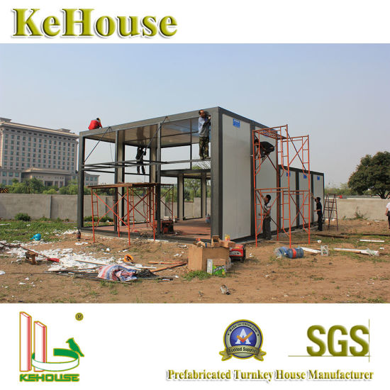 Myanmar Low Cost Housing Construction Modular Building Prefabricated  Container House