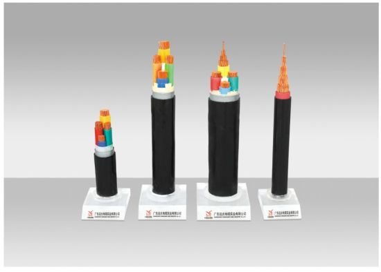 Power Cable, Copper/Aluminium Conductor XLPE/PVC Insulated PVC/PE Sheathed Electric Cable with Armored or Screened. pictures & photos