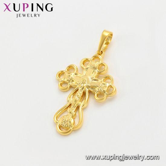f1cc5b5b1047d China 24K Gold Big Flower Jewelry Necklace Pendant - China Fashion ...