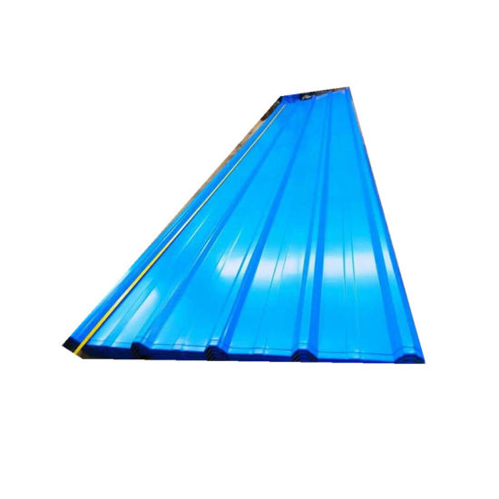 Building Material Prepainted Corrugated Steel Trapezoid Roofing Aluminium Sheet