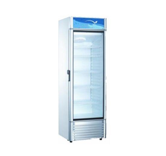 Commercial Outdoor Glass Door Display Showcase Refrigerator Freezer