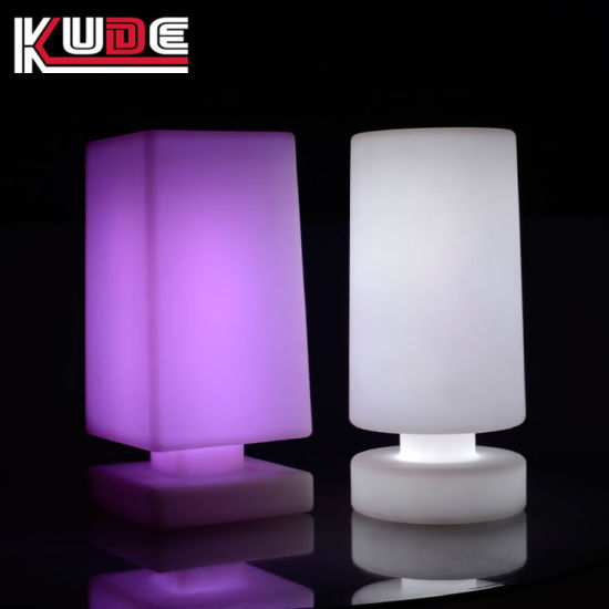 Battery Powered Led Table Lamps Wireless For Hotel Resturants