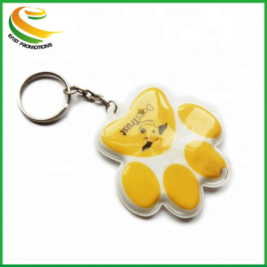Custom High Quality PVC LED Keychain Light for Promotion Gift pictures & photos