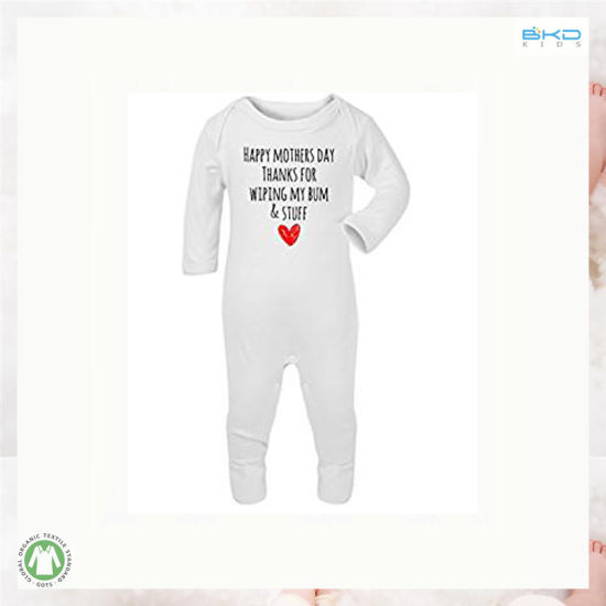 Long Sleeve High Quality Infant Wear Front Opening Baby Playsuit