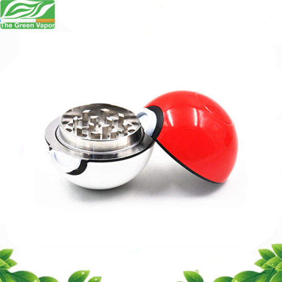 1a5e72084 China Wholesale Price Ball Herbal Grinders Pokemon Pokeball Tobacco ...