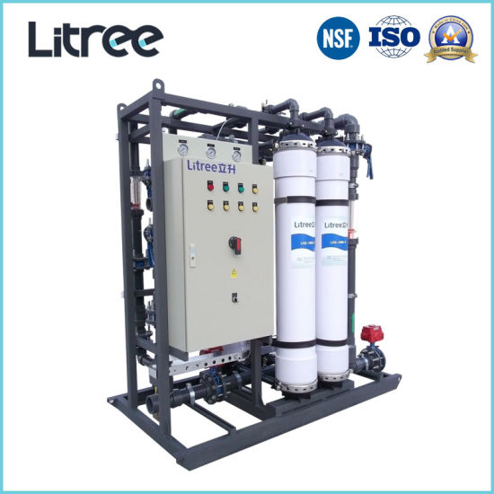 Industrial Water Filter Water Treatment Machine with Hollow Fiber UF Membrane