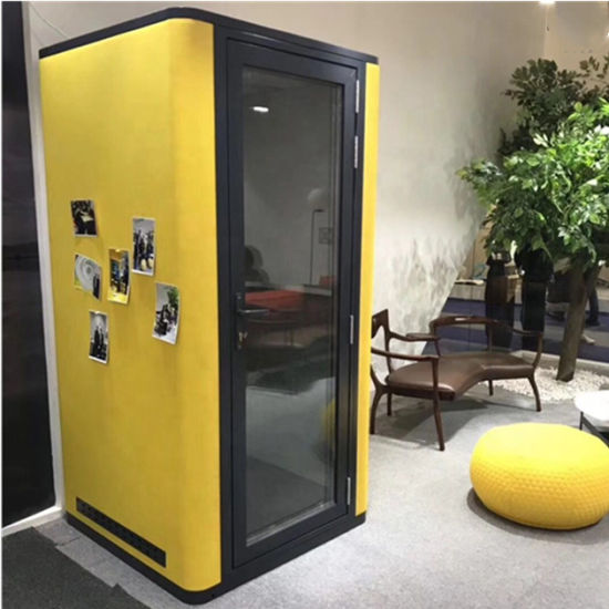 Morden Acoustic Office Meeting Booth Furniture Privacy Phone Pods