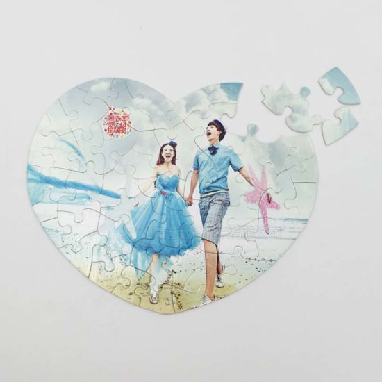Sublimation Jigsaw Puzzles Blanks 10 Sheets DIY for Heat Transfer Machine A5//A4//A3//Heart Shape Rectangle Craft Gift Holiday A3-252 Parts