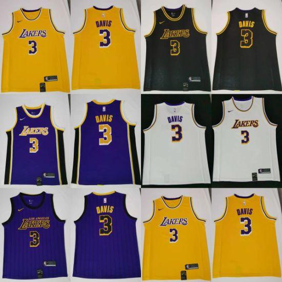 Wholesale 2019 N-B-a Draft Anthony Davis Putian +8615080120654 Basketball Jerseys