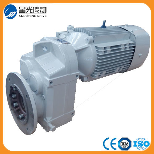 3 Stages Parallel Shaft Speed Reduction Gearbox