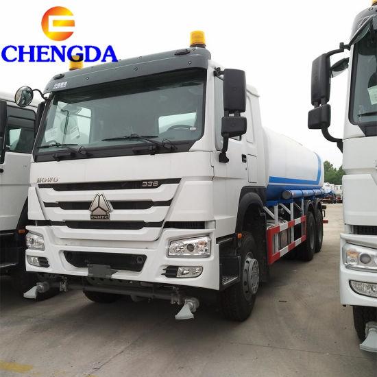 China Hot Sale 6X4 371HP HOWO 30000 Liters Water Tank Truck