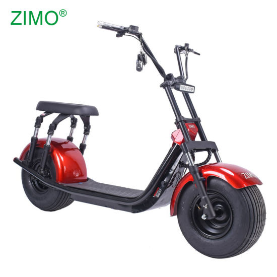 European Warehouse 1500W Fat Tire Adult Seev EEC Coc Citycoco 2 Person Electric Scooter 200kg Load