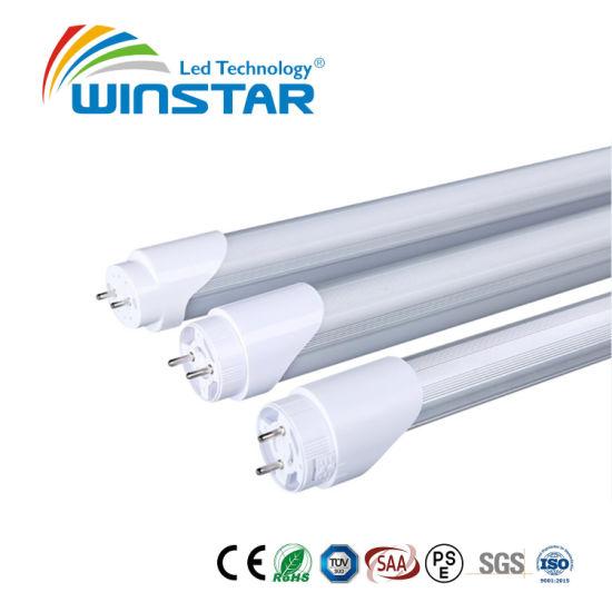 Rotatable Endcaps 160lm/W 8W T8 LED Tube Light