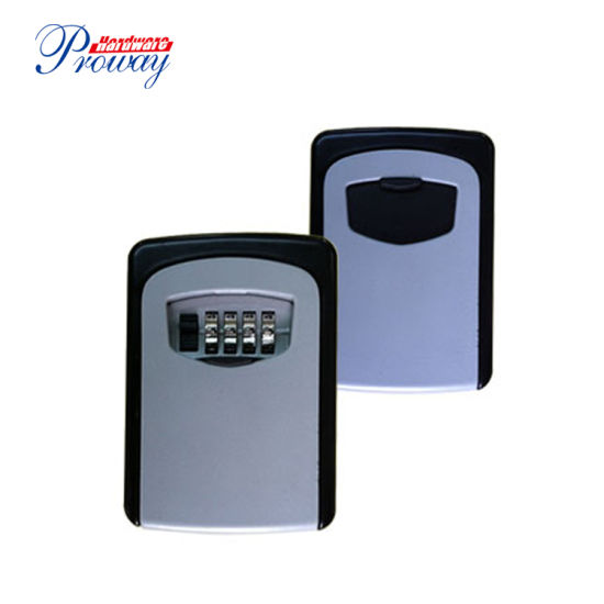 Manufactory Direct Best Selling Metal Wall Mount Key Lock Box with Combination Lock