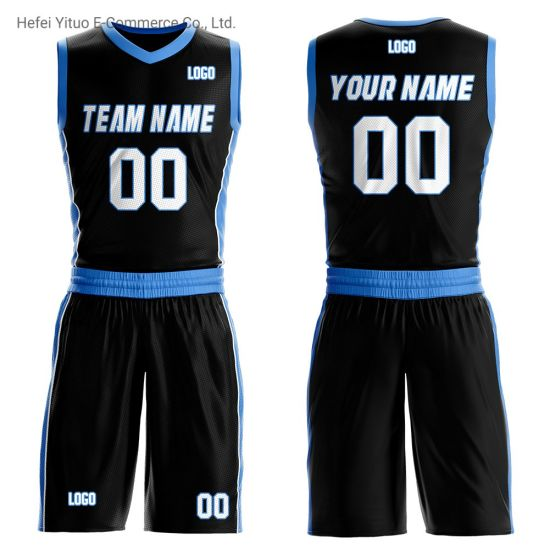 Wholesale Customized Knitted Breathable Unisex Basketball Suits Sportswear