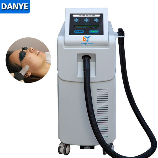 Air Skin Facial Cooler Machine for IPL Laser, CO2 Laser Treatment pictures & photos