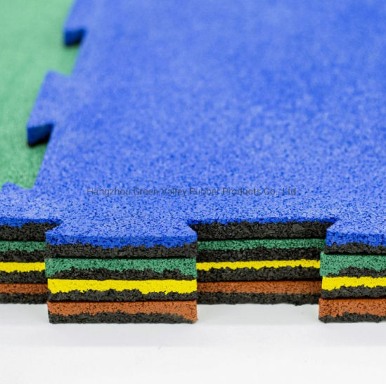 Recycled Rubber Tiles Rubber Backing