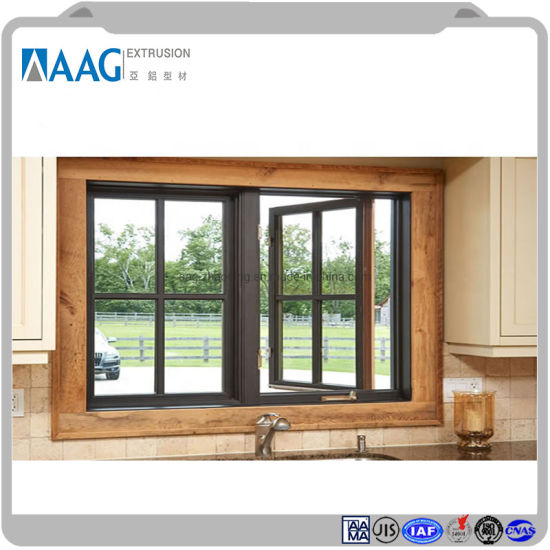 Top Sale Guaranteed Quality Aluminum Tempered Casement Glass Windows pictures & photos