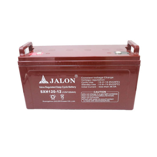 Safety Valve Regulated Lead Acid Battery Deep Cycle for UPS System 12V 120ah