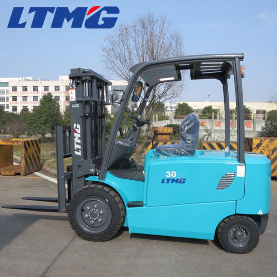 Good Performance 3ton 3.5 Ton Electric Forklift Price with Curtis Controller