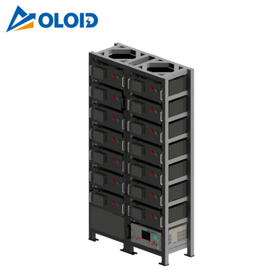 71.68kwh Solar Rechargeable Li-ion LiFePO4 Lithium Storage Battery with BMS