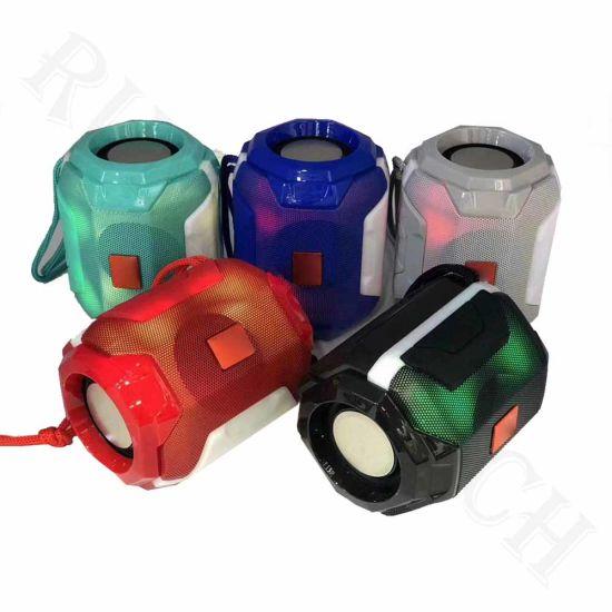 Tg162 Dazzling Lantern Portable Wireless Colorful Light Bluetooth Subwoofer Speaker