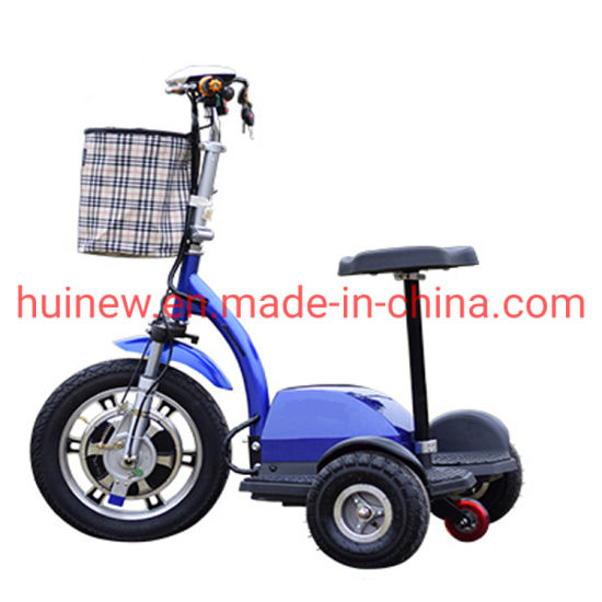 3 Wheels Handicapped Electric Scooter LCD Display Mobility Scooters with Ce