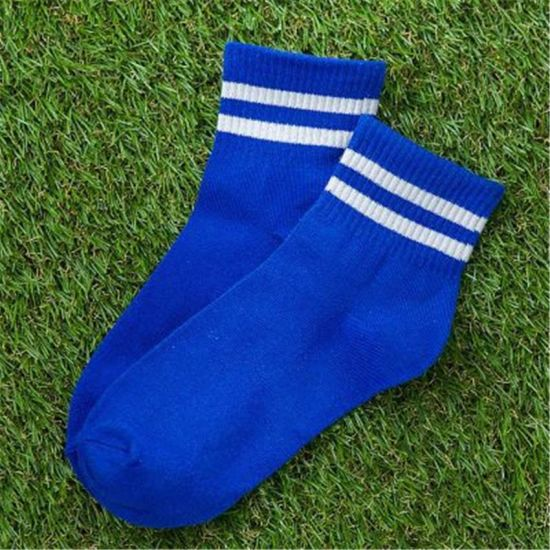 Men Women Unisex Striped Born Baby Kid Children Student Jacquard Cotton Compression Sock Stocking Knee Long Plain Sock High Ankle Crew Tube Sport Football Sock pictures & photos