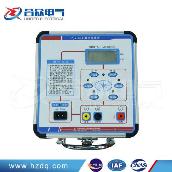 Ohm Auto Range Portable Digital Bridge Megger