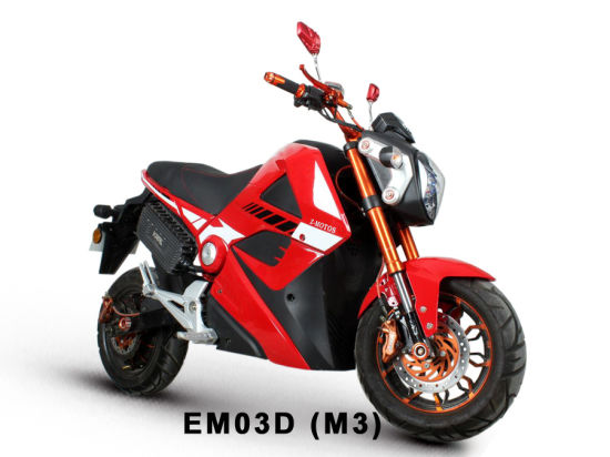 EEC Electric Motorcycle M3, 72V2000W pictures & photos