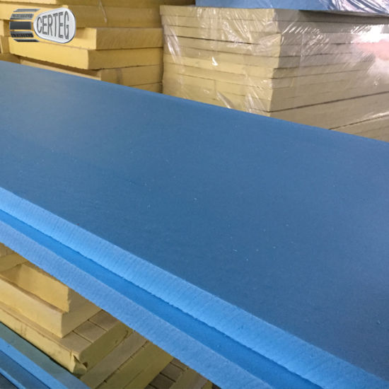 50mm blue color Insulation XPS wall Board