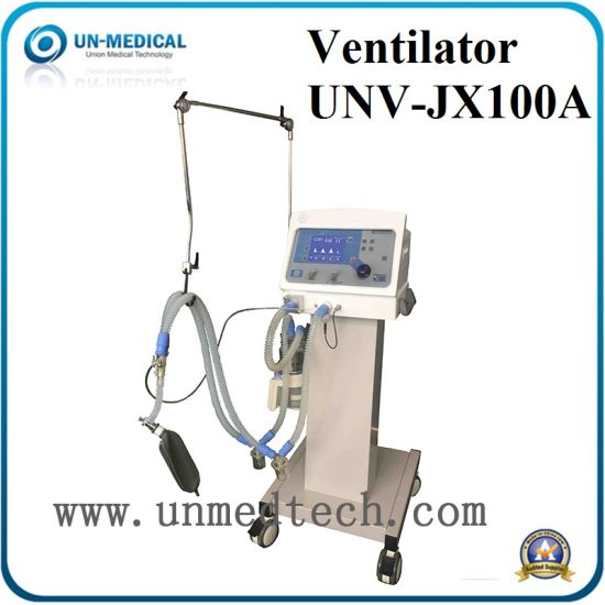Ce/ISO Approved Hot Sale Medical Portable Emergency Ventilator