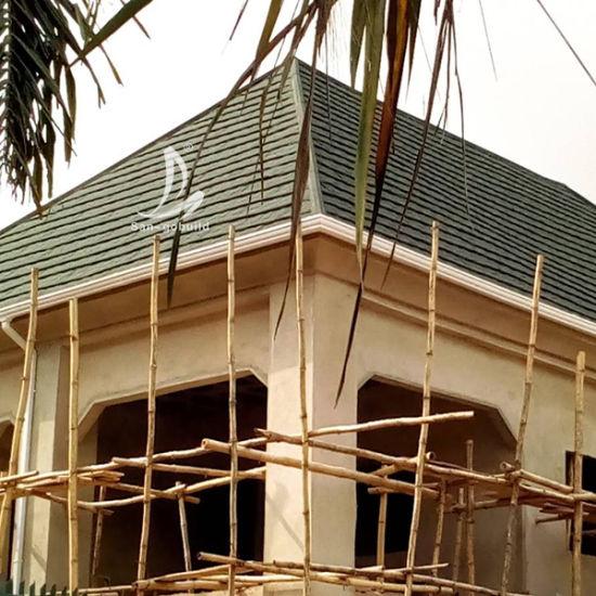 China Nigeria Personal House Plan Quality Stone Coated Aluminum Zinc Roofing Sheet Shingle Design China Roofing Shingles Roofing Sheet