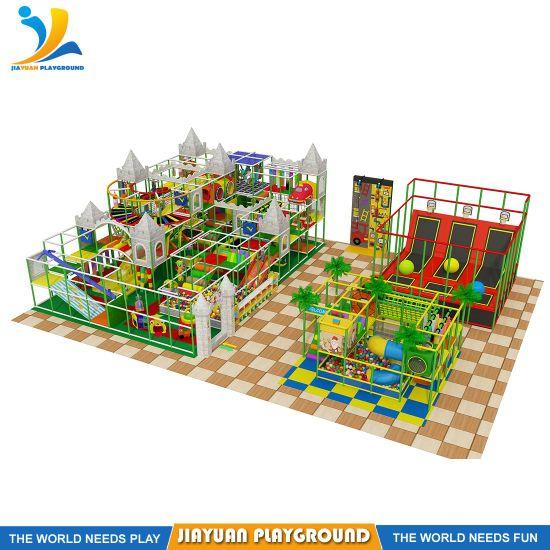 Trampoline Park Trampoline Climbing Wall Playground Kids Indoor Playground Equipment