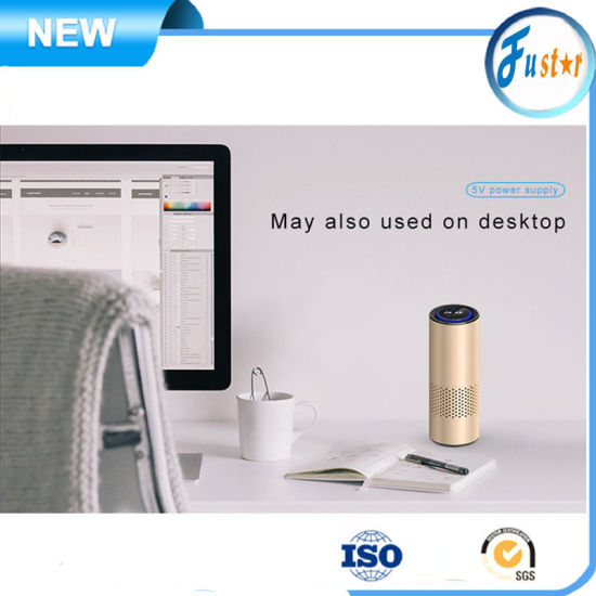 Gesture Control 4in1 Metal Materials Portable UV HEPA Filter Desktop Room Air Purifier