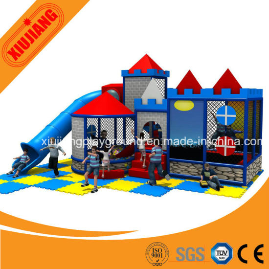 Latest Fashion Design Kids Indoor Playground Equipment with Good Quality pictures & photos
