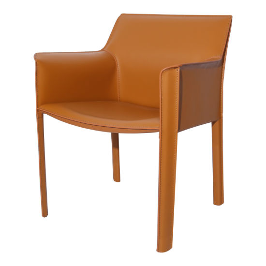Awe Inspiring China Classical Luxury Saddle Leather Dining Chair With Ibusinesslaw Wood Chair Design Ideas Ibusinesslaworg
