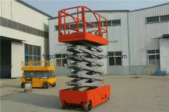 The Most Popular Self-Propelled Aerial Working Platform on Sale pictures & photos