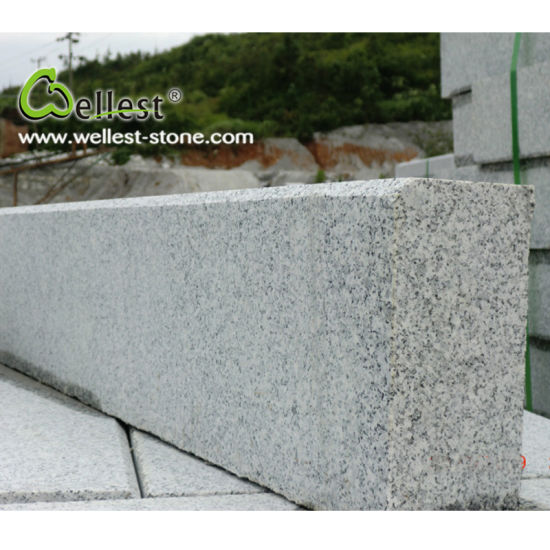 Factory Natural Grey Flamed G603 Lunar Pearl Granite Kerbstone pictures & photos