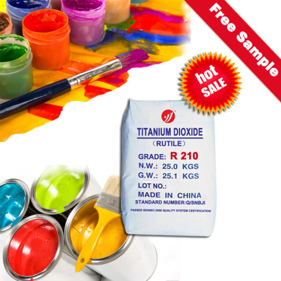 Oil Based Primer Paints and Coats Cost-Effective TiO2 R210 Dioxide De Titan