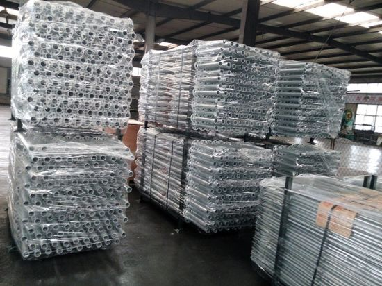 Hot Dipped Galvanized Steel Scaffold Ringlock pictures & photos