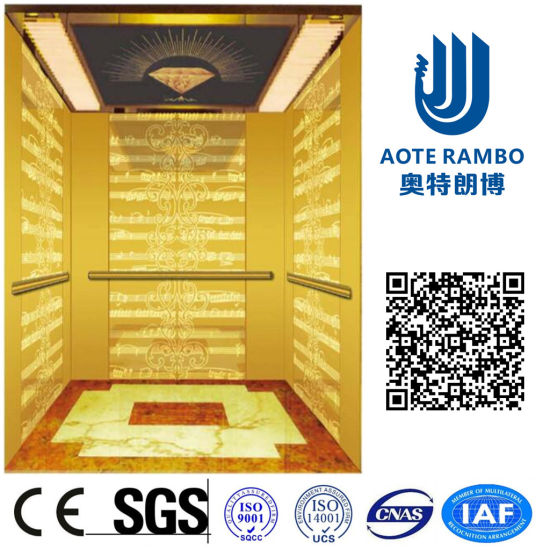 Gearless Traction Passenger Elevator with Vvvf Drive (RLS-206)