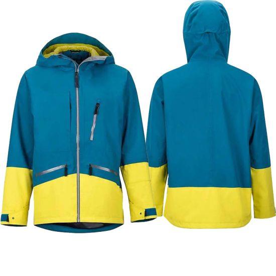 OEM ODM Custom Anti UV Breathable Waterproof Windproof Men Ski Jacket