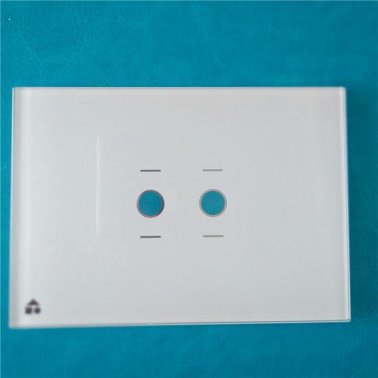 China 4mm Multi Light Switch Touch Panel - China Silk Screen, Switch ...