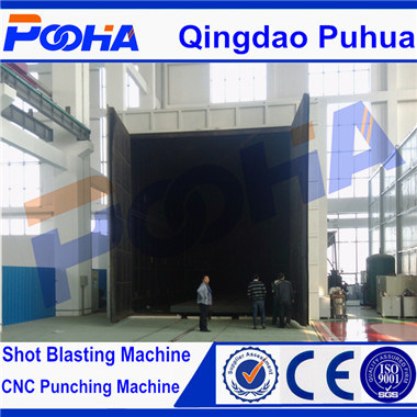 Sealed Cleaning Equipment Complex Steel Structure Sand Blasting Room/ISO Ce pictures & photos