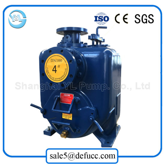 4 Inch Self Priming Centrifugal Water Pump with Motor Driven pictures & photos