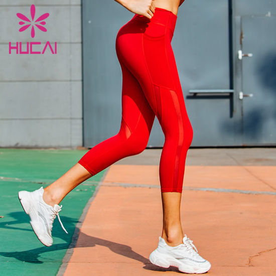 Custom Gym Yoga Leggings Sexy Women Leggings Sport Tight Breathable Workout Leggings