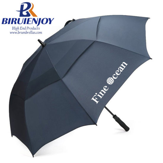 Top Quality Extra Oversize Large Compact Automatic Vented Golf Umbrella