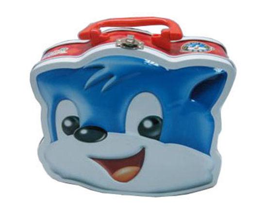2020 OEM New Design Cat Lunch Tin Box