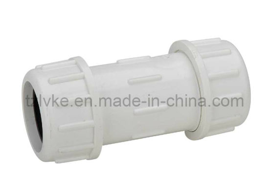 Plastic Quick Connector/Quick Coupling/Pipe Compression/Quick  Connector/Coupling/Adapter/Reducer/Flexible Coupling/Quick Coupler (ANSI,  DIN